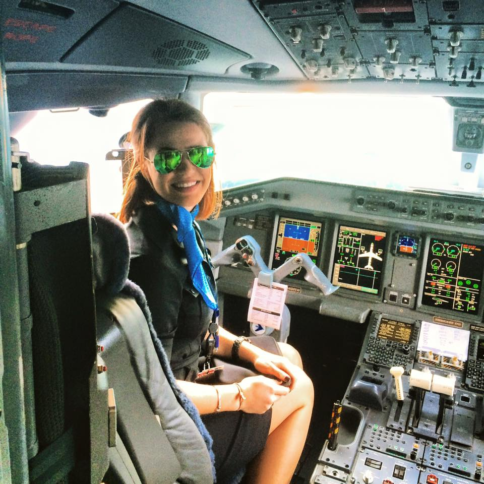 Working Flight Attendant Graduates from The Travel Academy